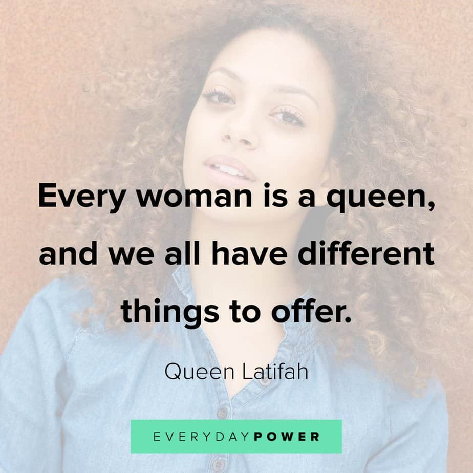 Queen Quotes celebrating uniqueness
