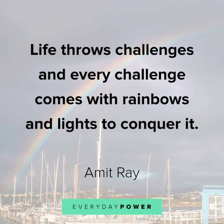Rainbow quotes about life