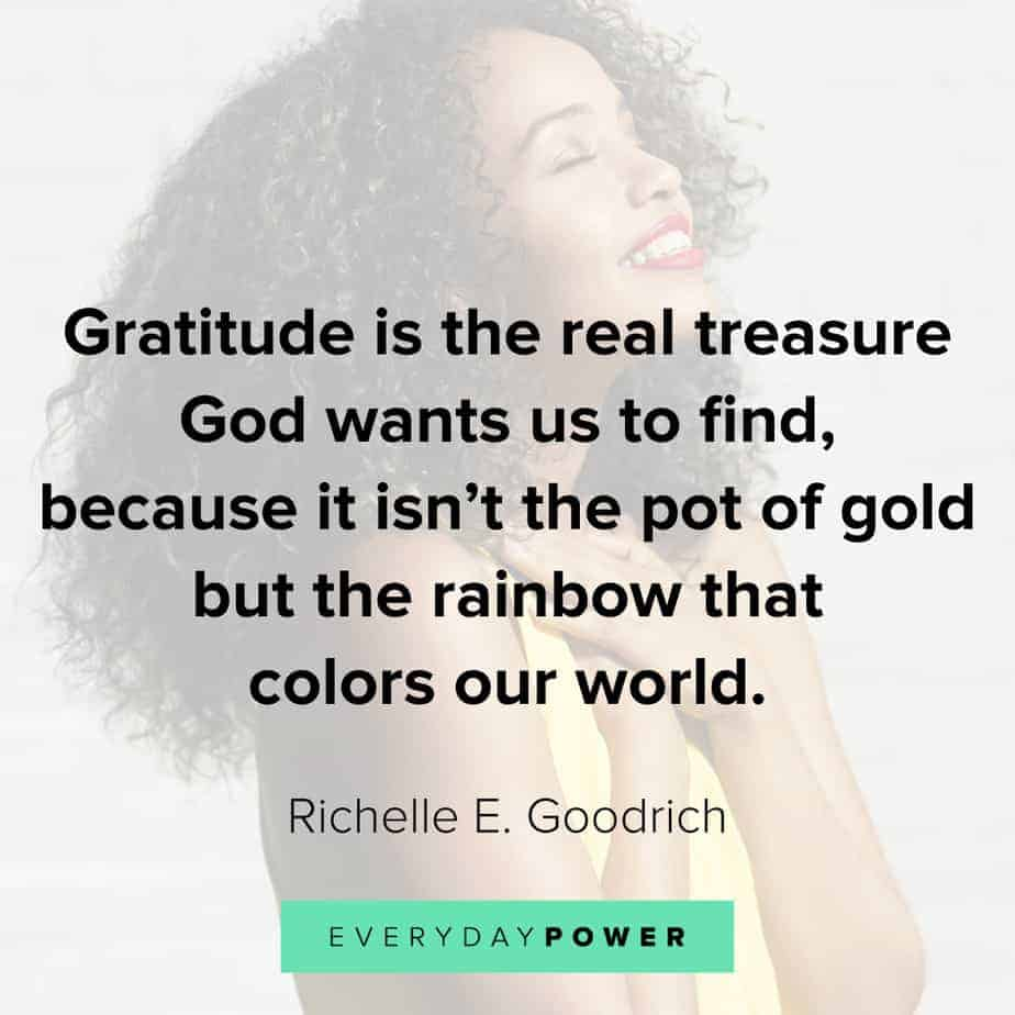 Rainbow quotes about gratitude