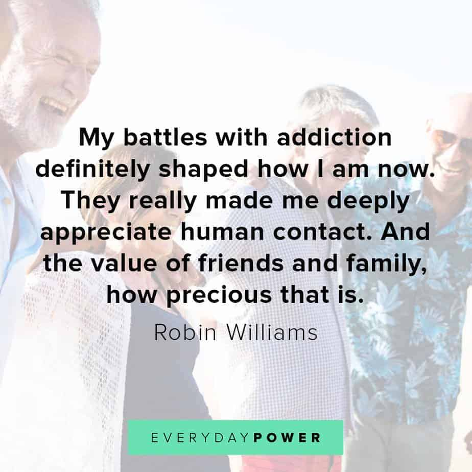 Robin Williams quotes on the value of friends