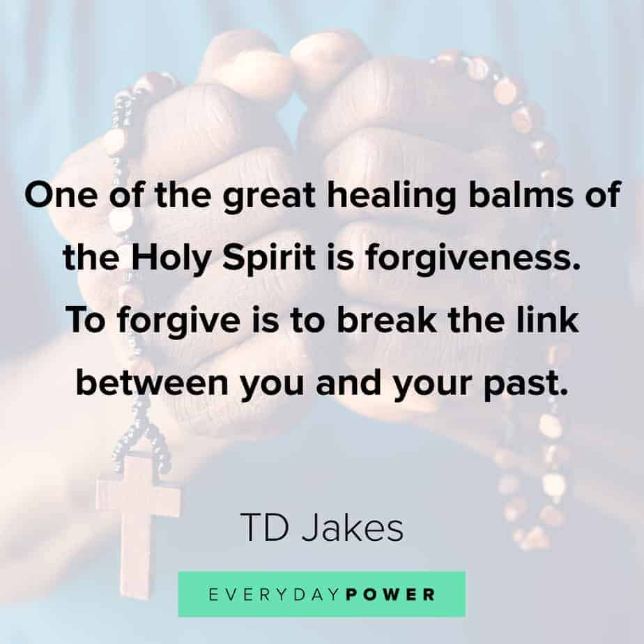 TD Jakes Quotes about forgiveness