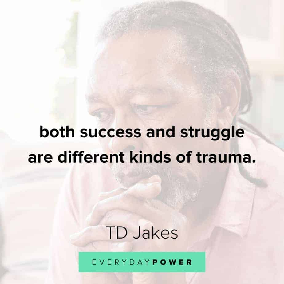 TD Jakes Quotes about success