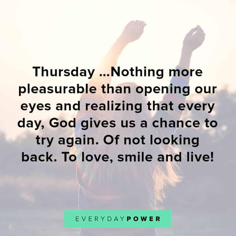 Thursday Quotes about chances