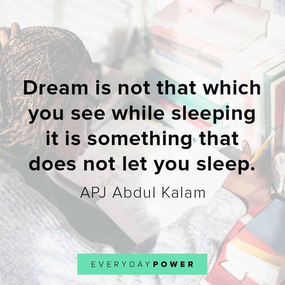 Thursday Quotes about dreams