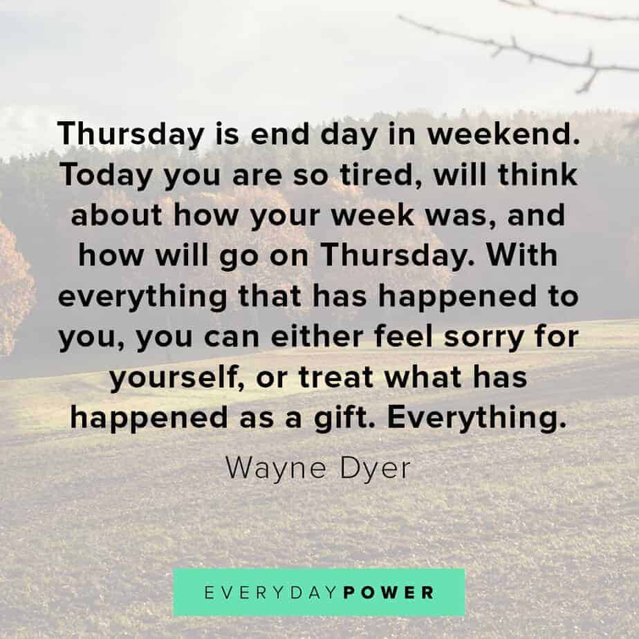 Thursday Quotes about gifts