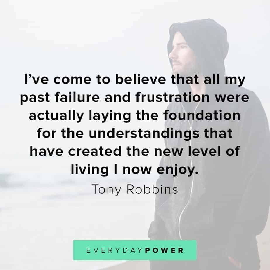 Tony Robbins quotes on dealing with frustrations