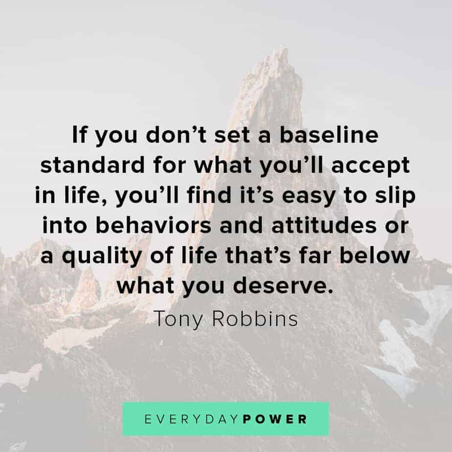 Tony Robbins quotes on attitudes
