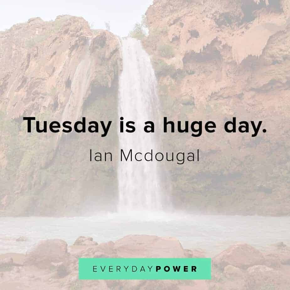 Tuesday quotes celebrating a huge day