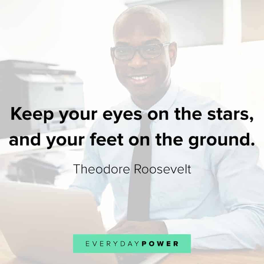 Wednesday Quotes about keeping your feet on the ground