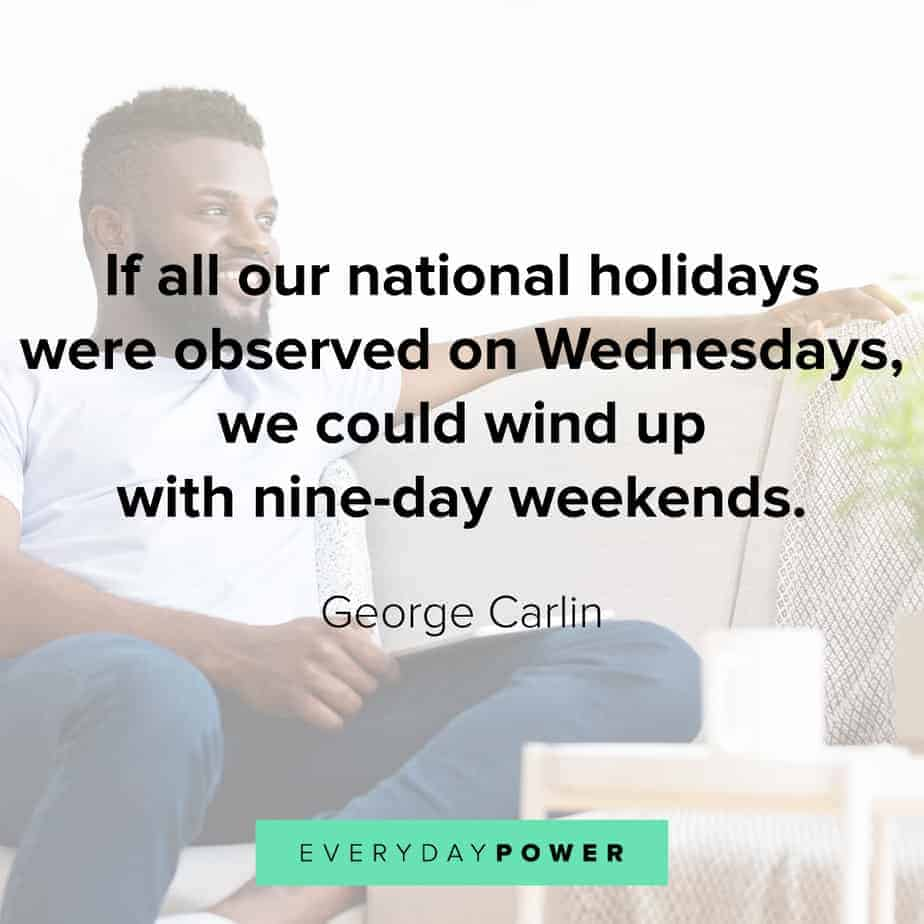 Wednesday Quotes about holidays