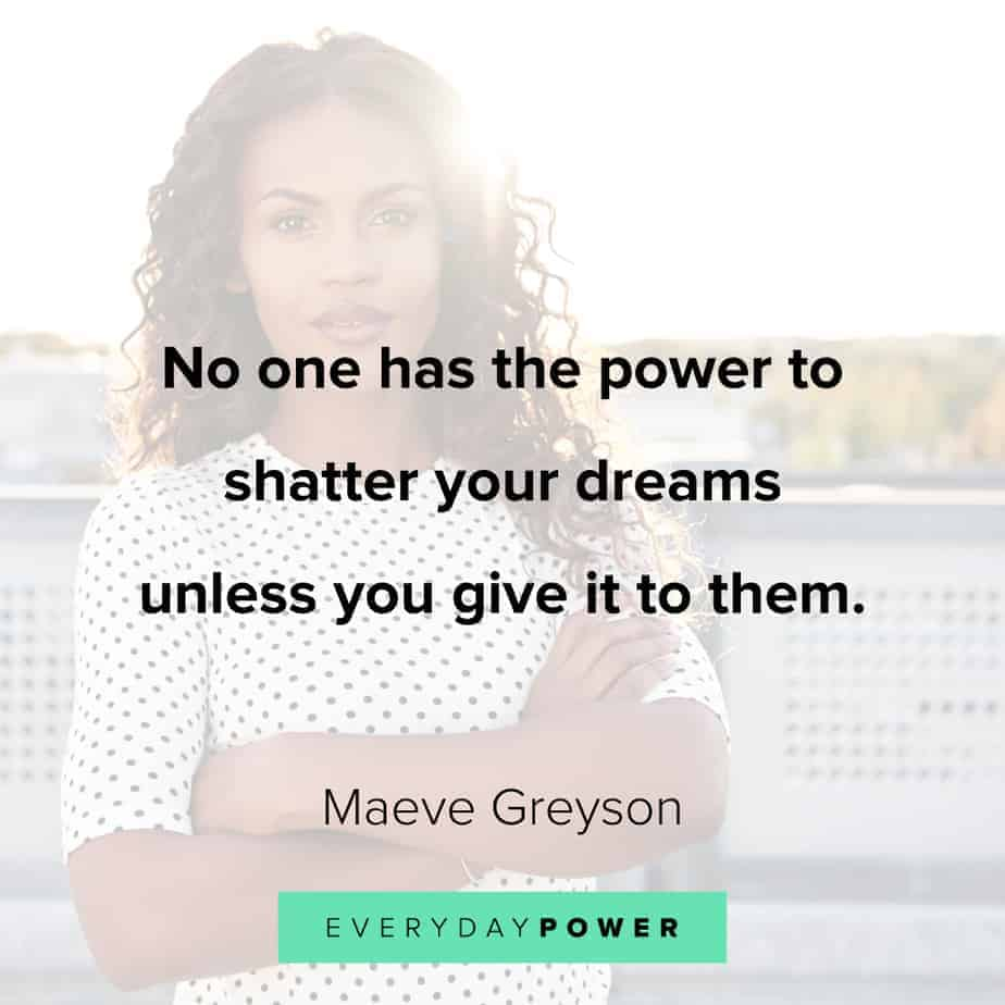 don't give up quotes about dreams