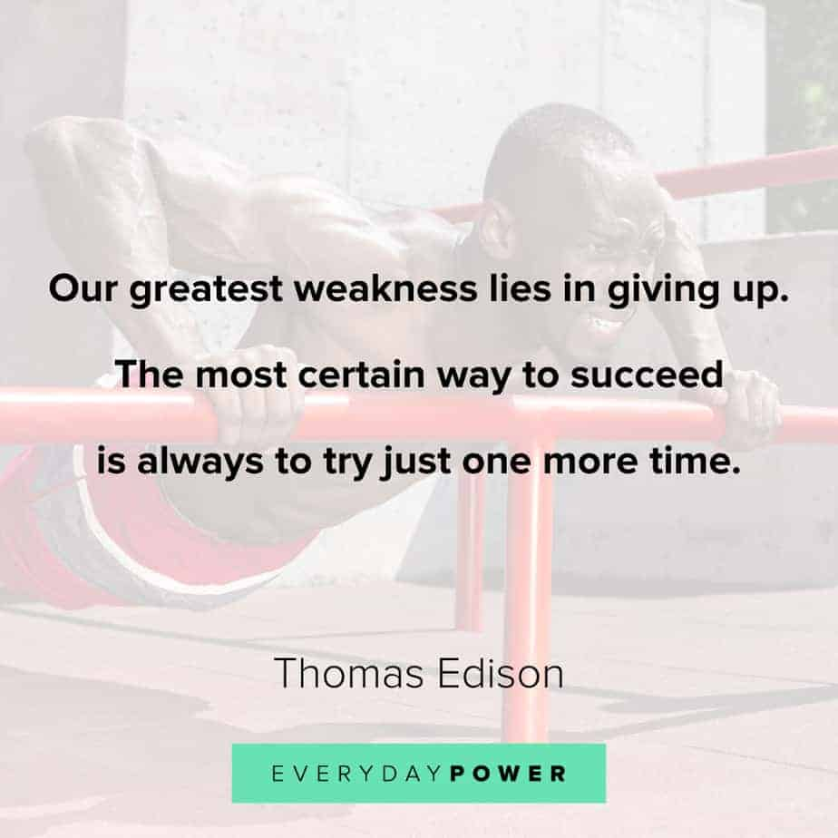 don't give up quotes about focus