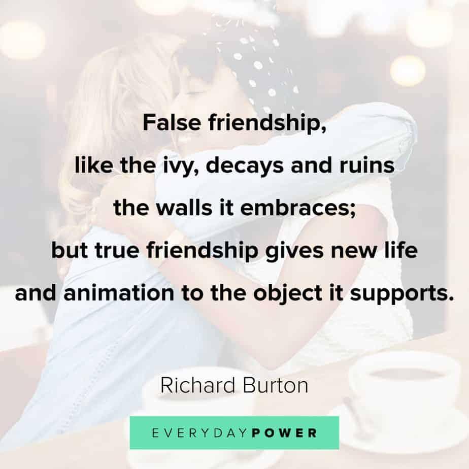 false friendship quotes