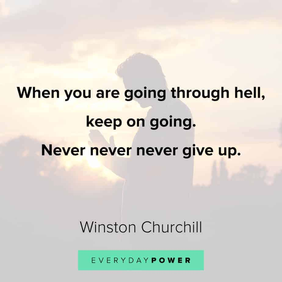giving up quotes to keep you moving forward