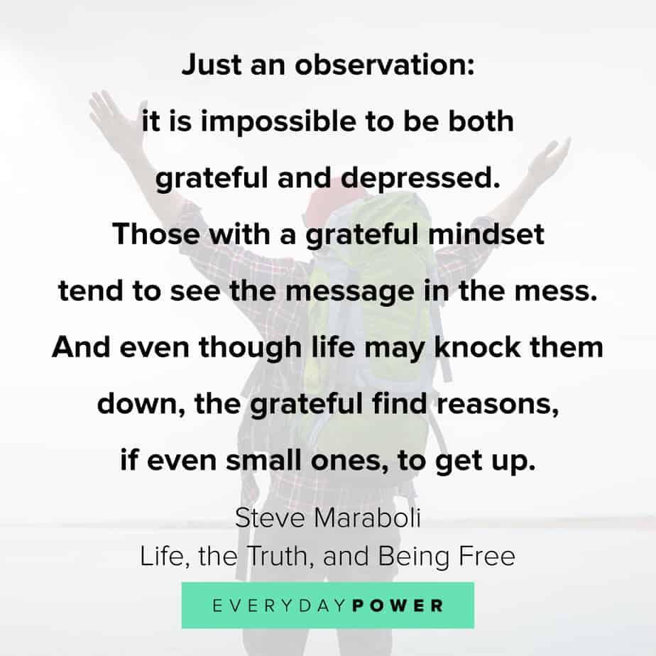 gratitude quotes about depression