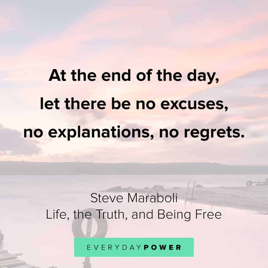gratitude quotes about excuses