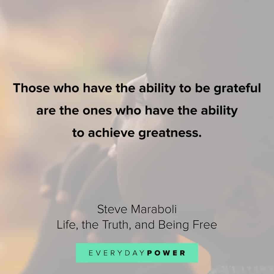gratitude quotes about achievement