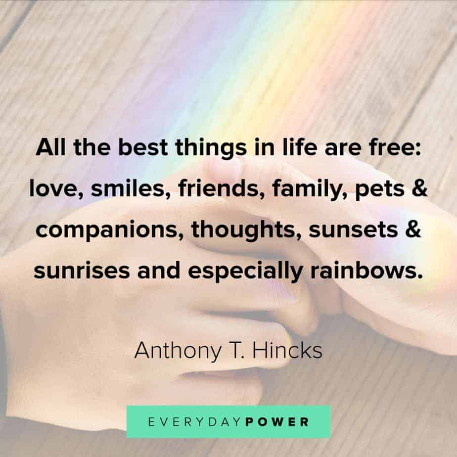 Rainbow quotes about sunrise