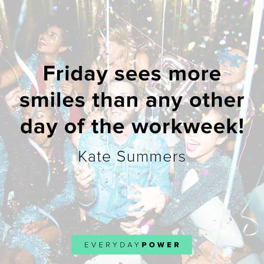 happy friday quotes on smiling