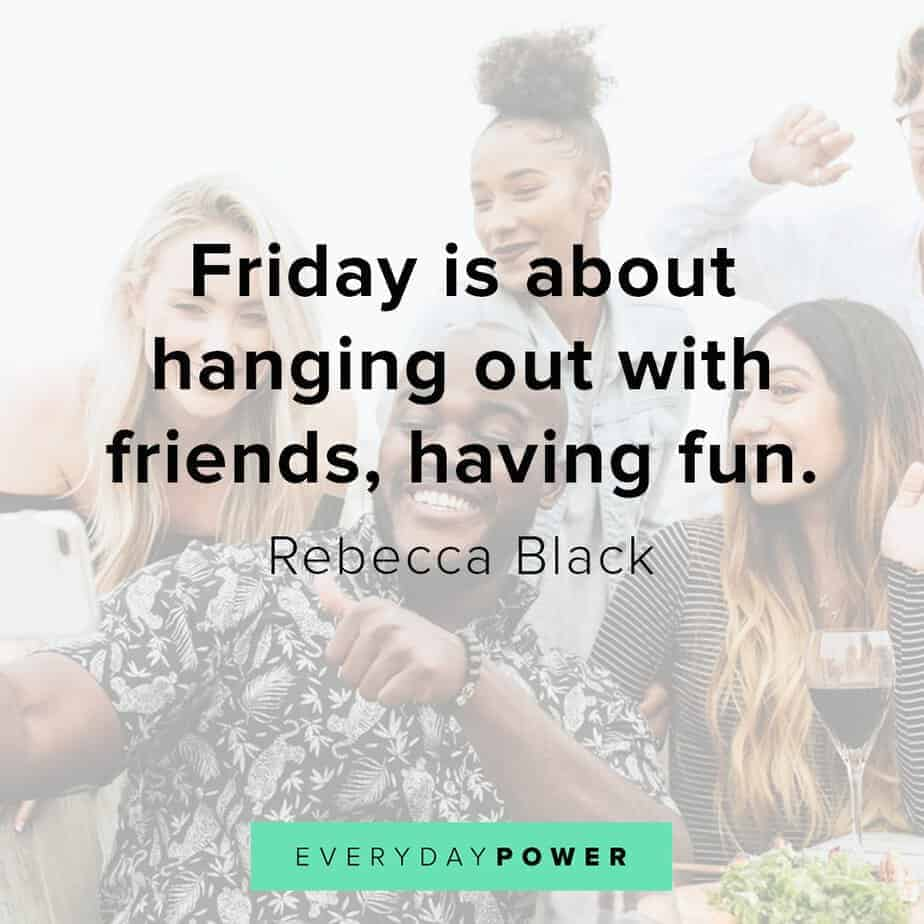 happy friday quotes on having friends