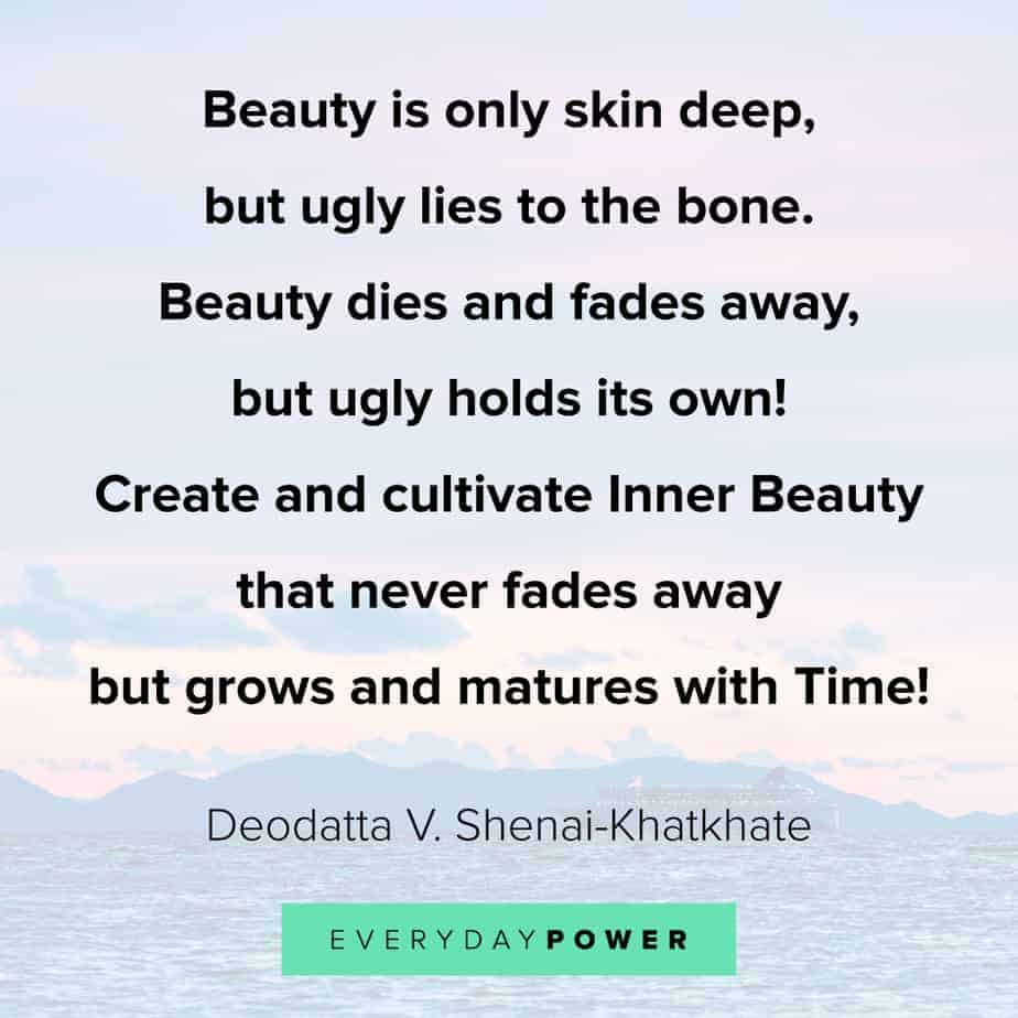 deep beauty quotes