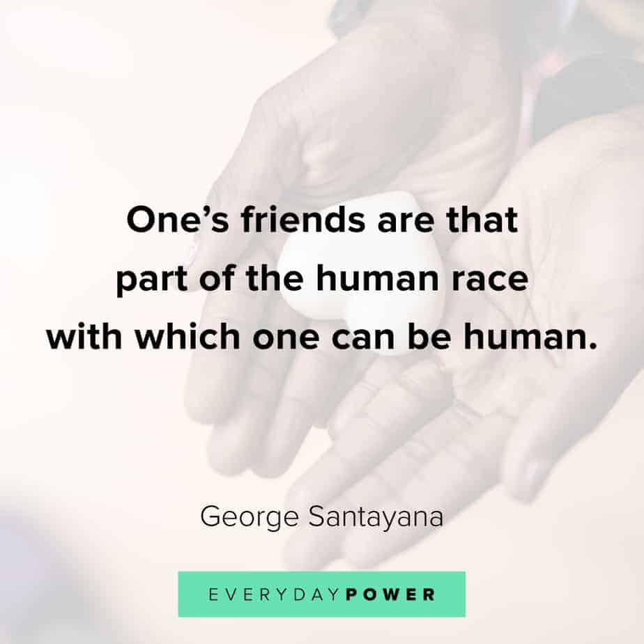 quotes about friends and life