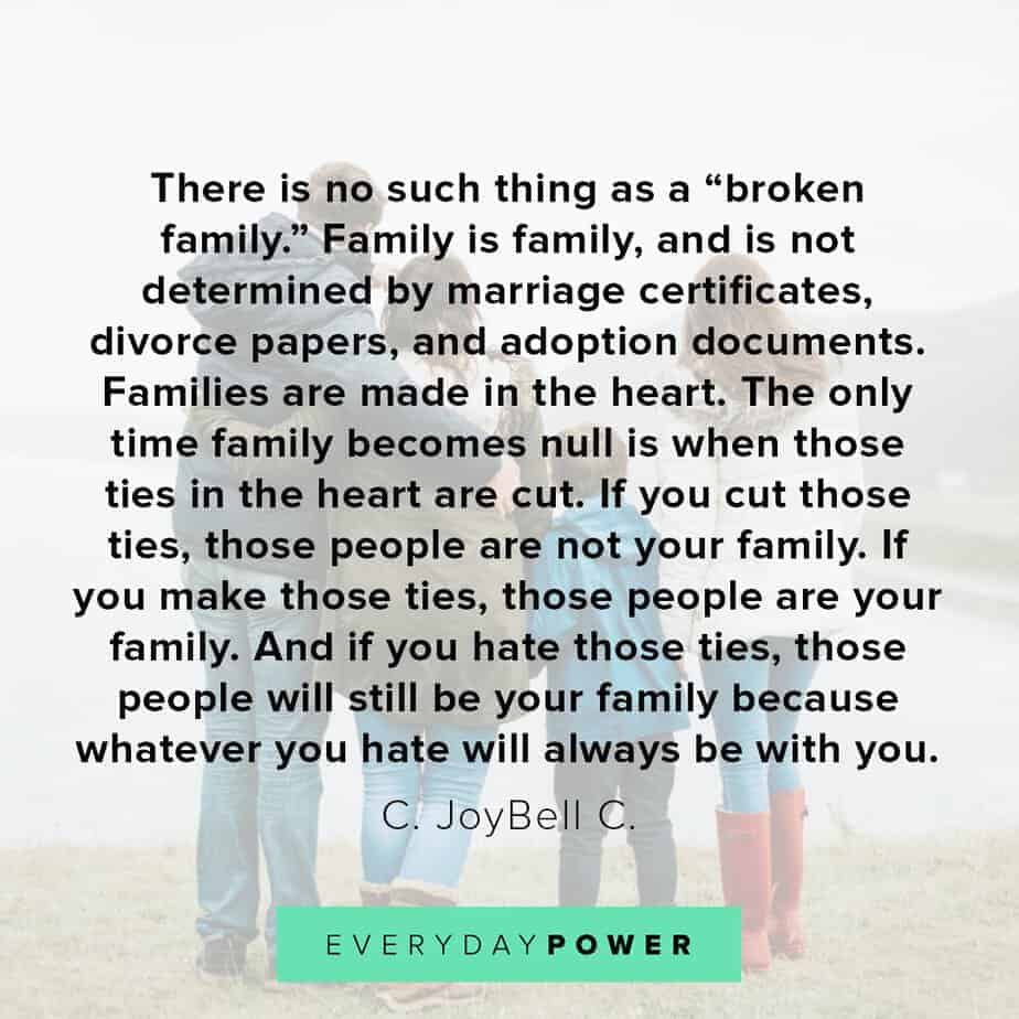 letting go quotes about family