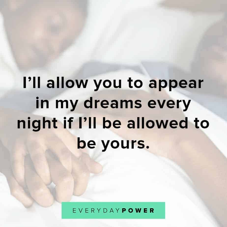 love quotes for your husband about dreams