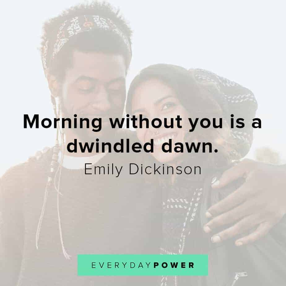 love quotes for your husband about dawns