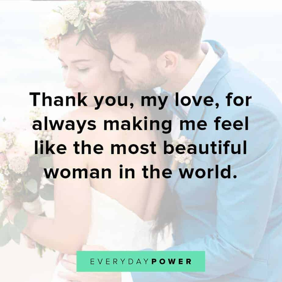love quotes for your husband to show gratitude