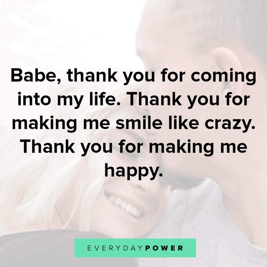 love quotes for your husband thanking him