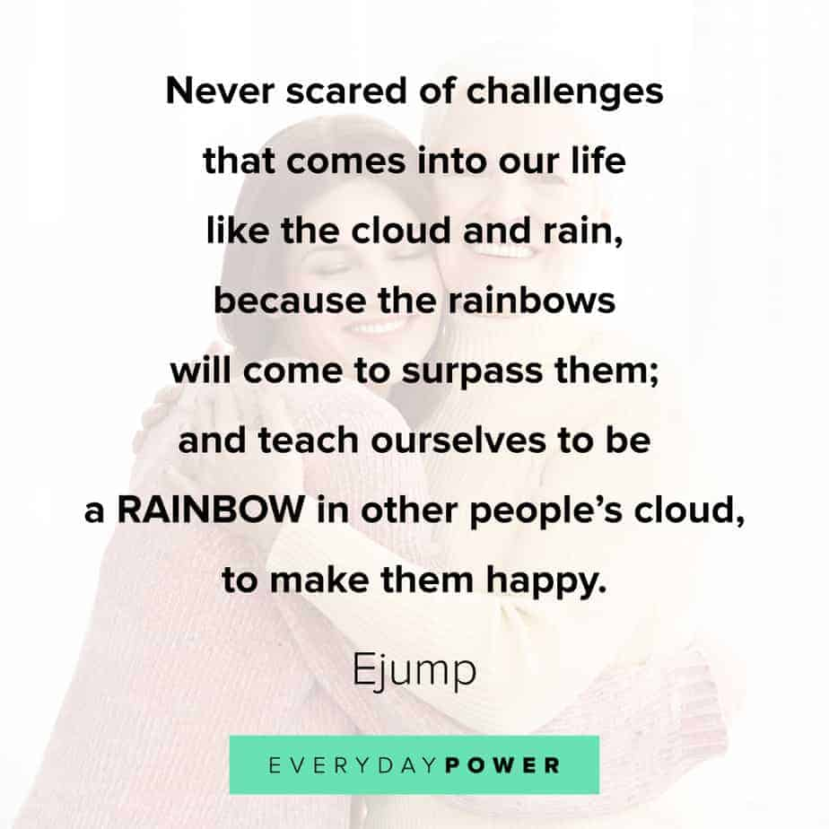 Rainbow quotes about work