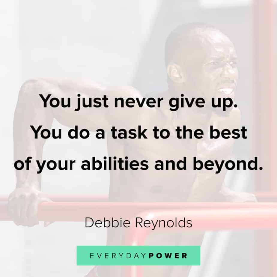 never give up quotes about abilities