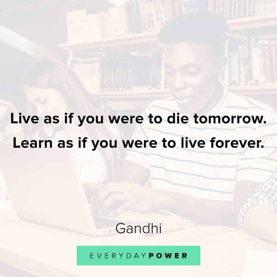 Graduation Quotes about learning