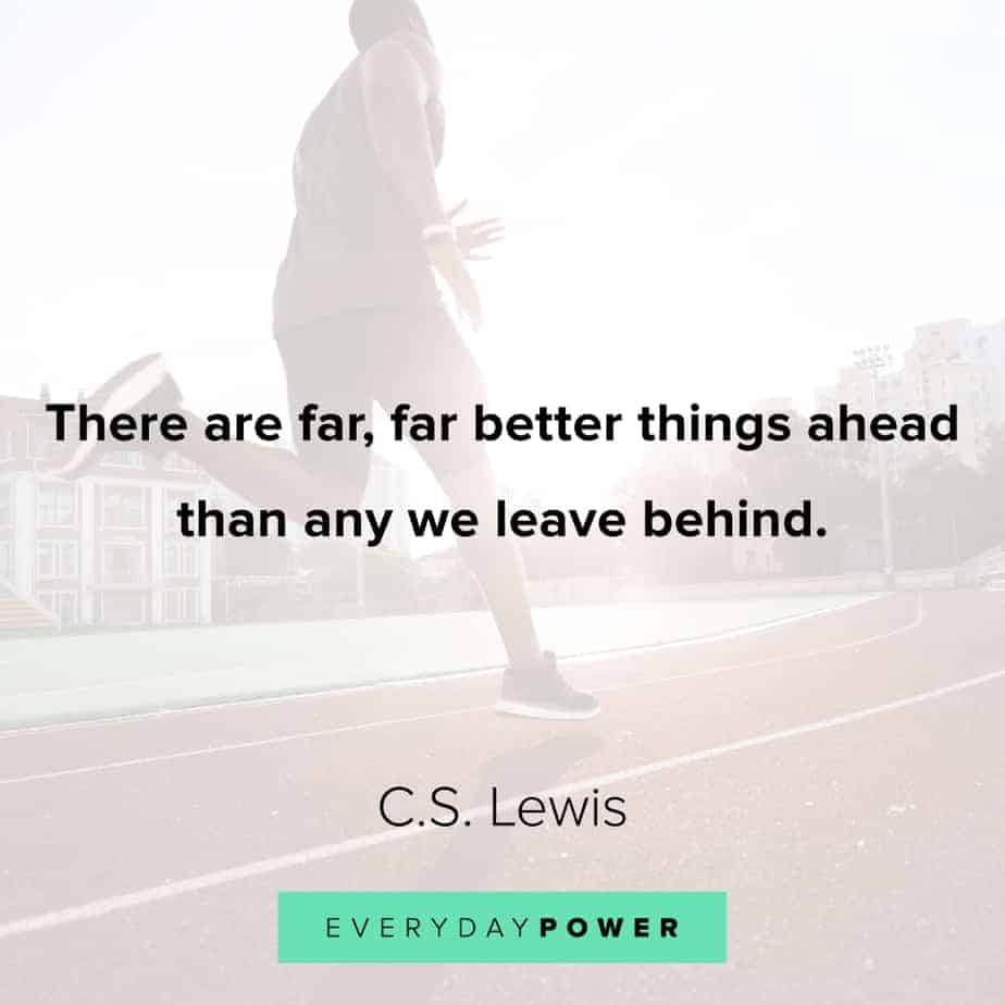 Graduation Quotes about better things