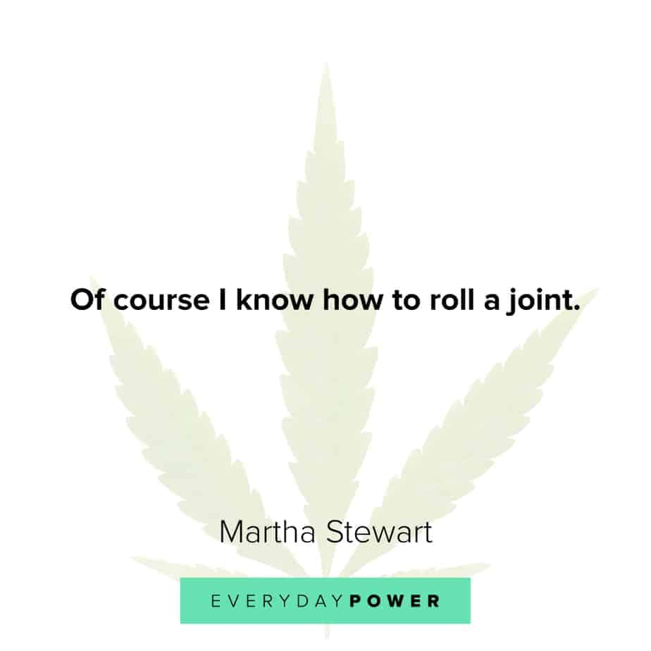 Weed Quotes about rolling it