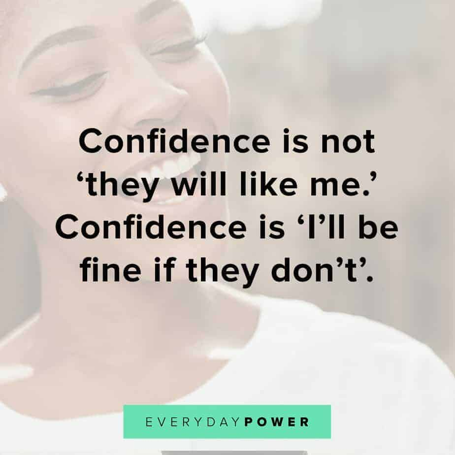 selfie quotes and captions on confidence