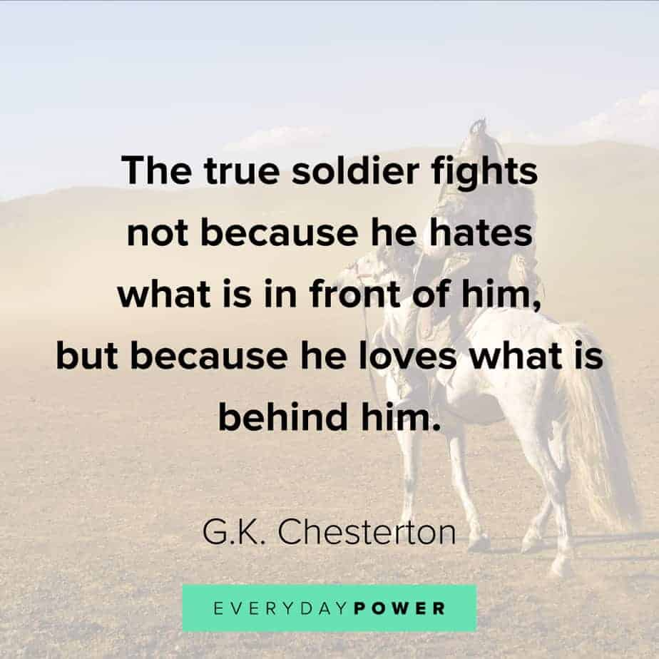 warrior quotes about soldiers