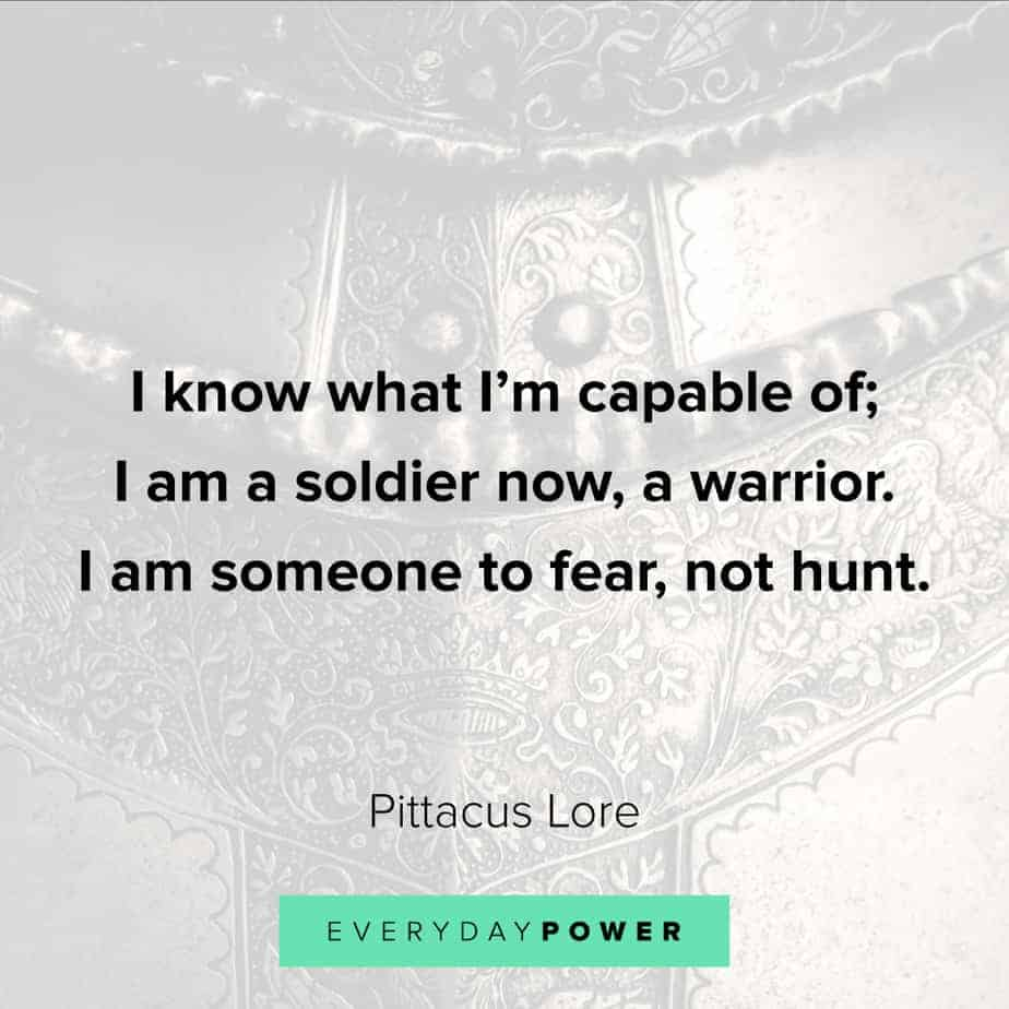 warrior quotes about fear