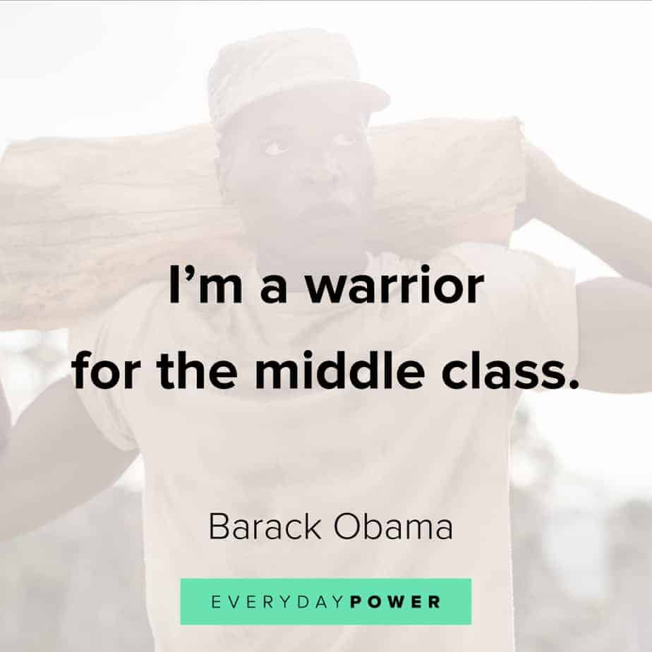 warrior quotes about class