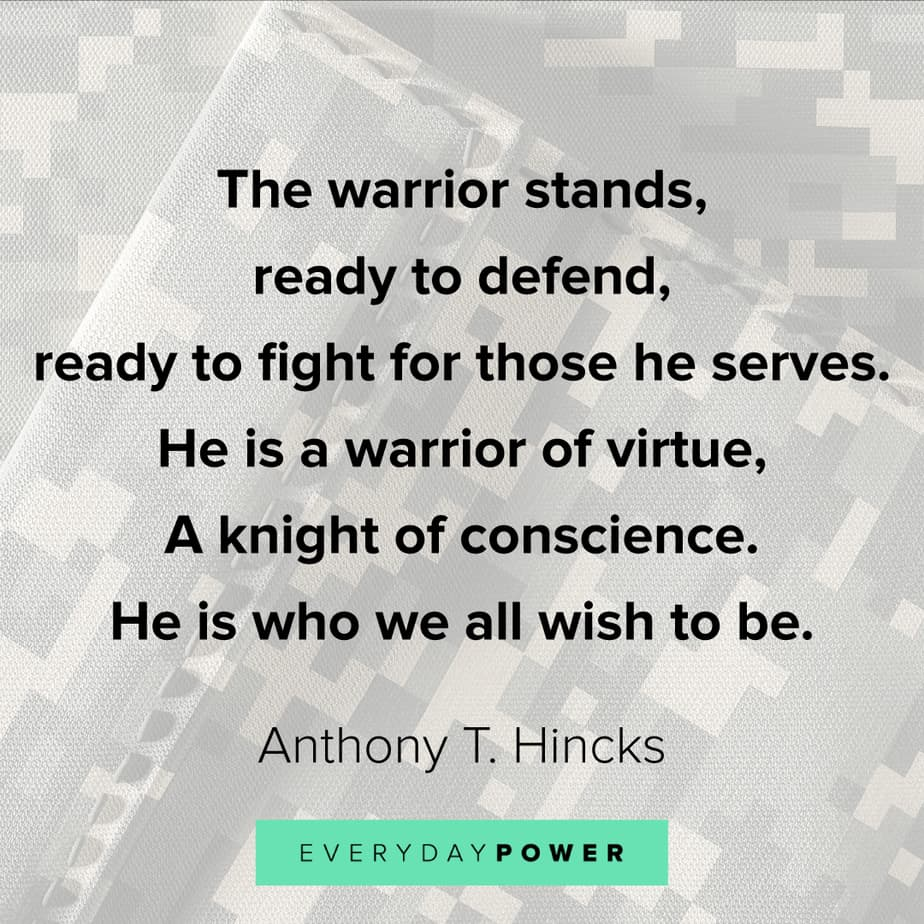 warrior quotes about conscience