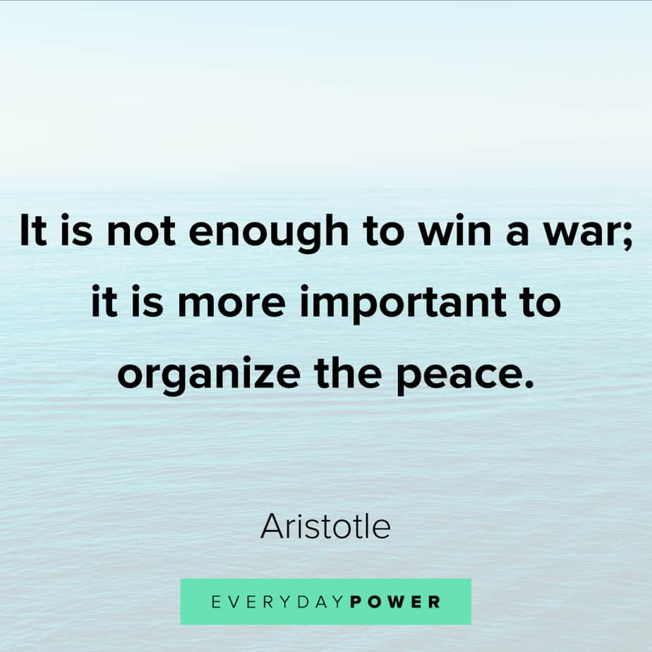 warrior quotes about peace