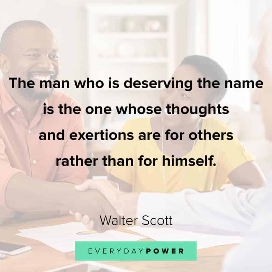thoughtful Good Man Quotes