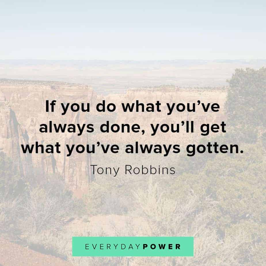 Tony Robbins quotes on behavior