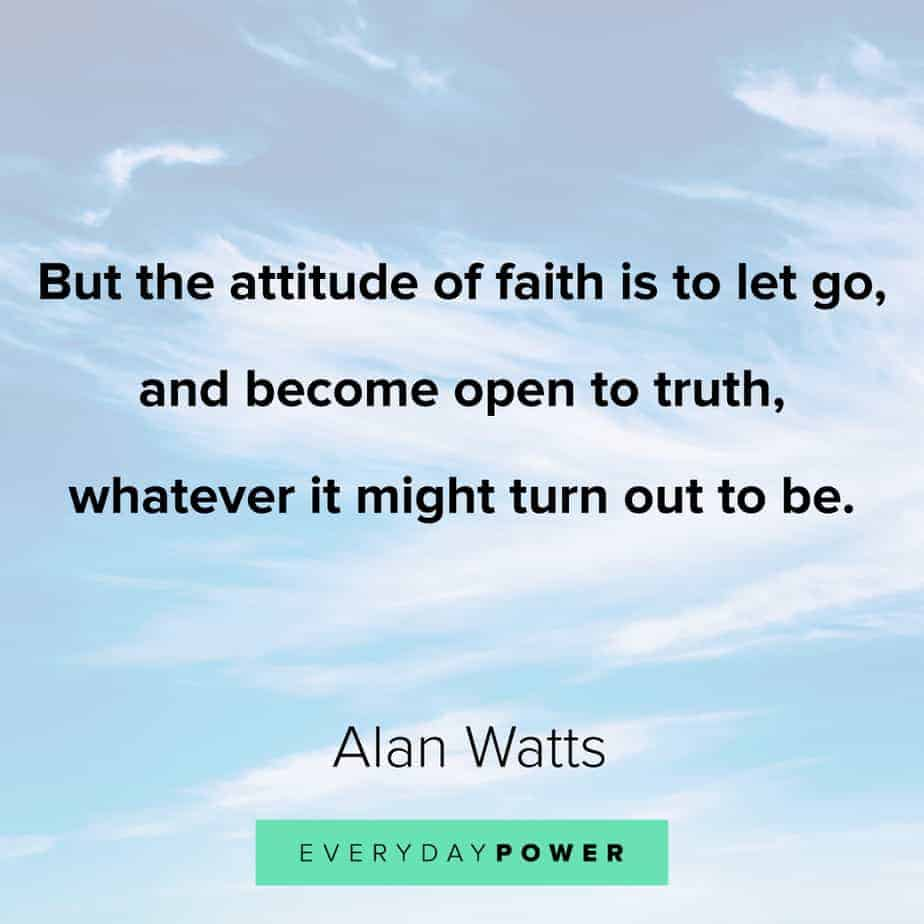 Alan Watts Quotes on truth