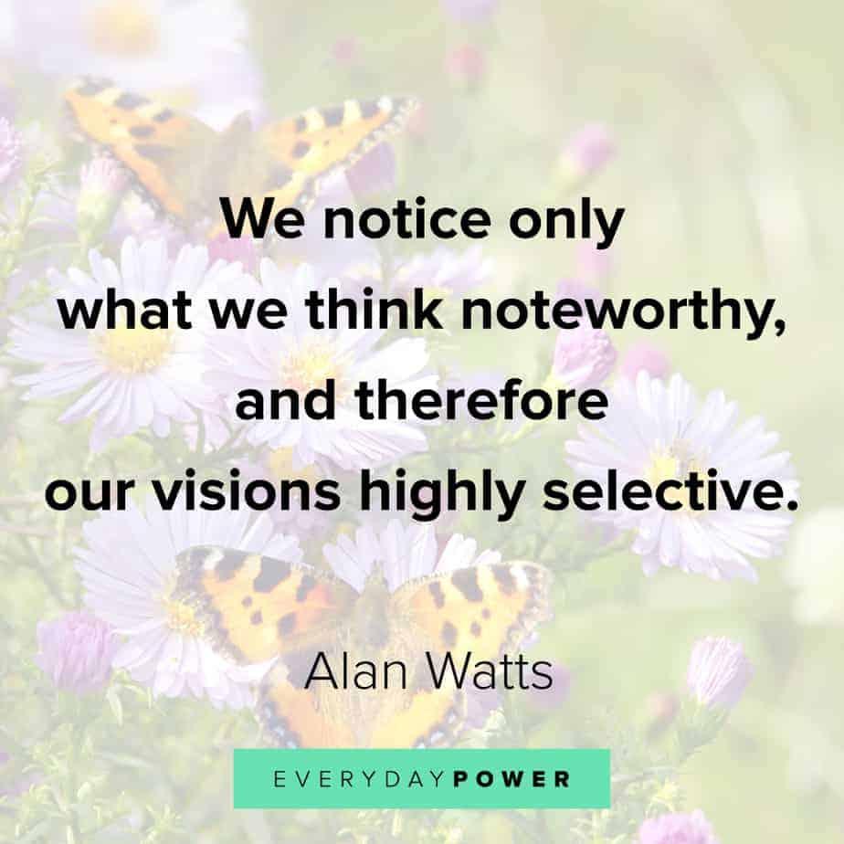 Alan Watts Quotes on pain