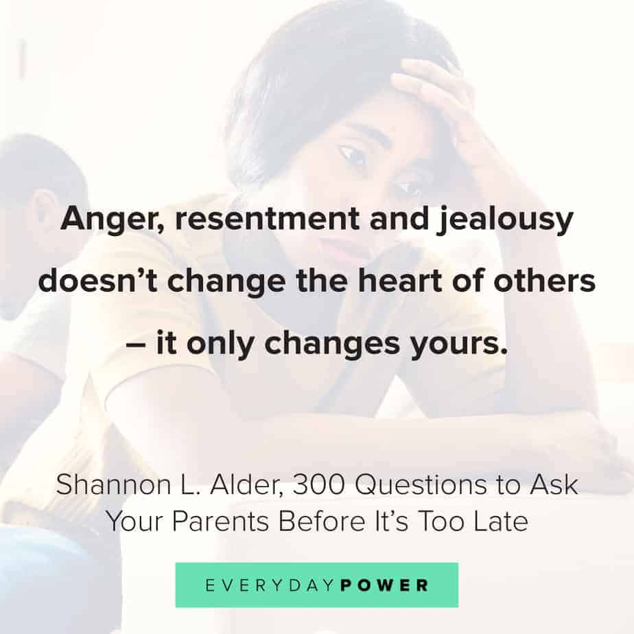 Depression quotes about resentment
