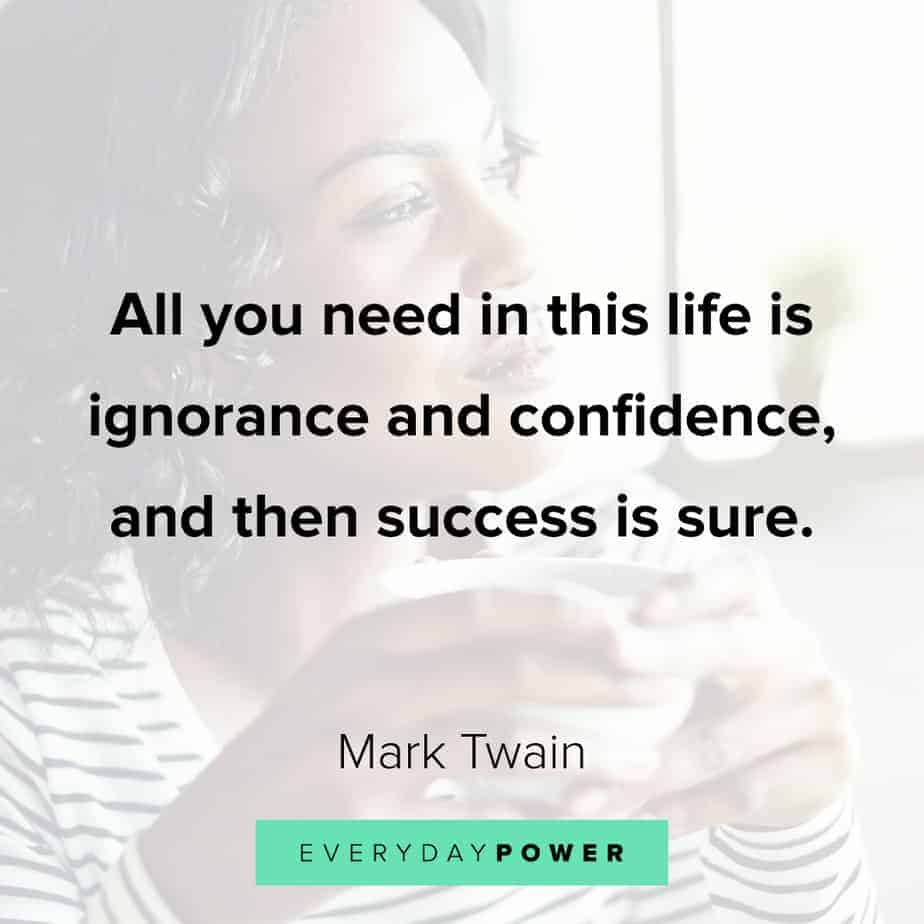 Funny inspirational quotes about confidence