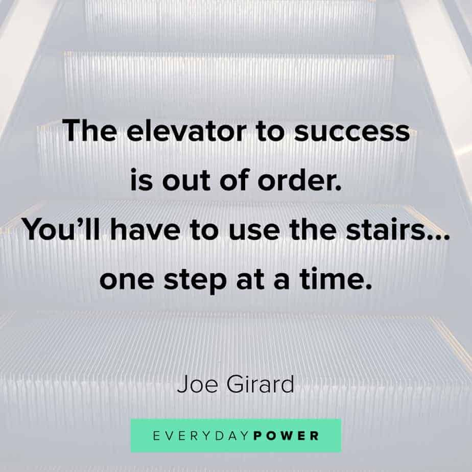 Funny inspirational quotes about the elevator to success