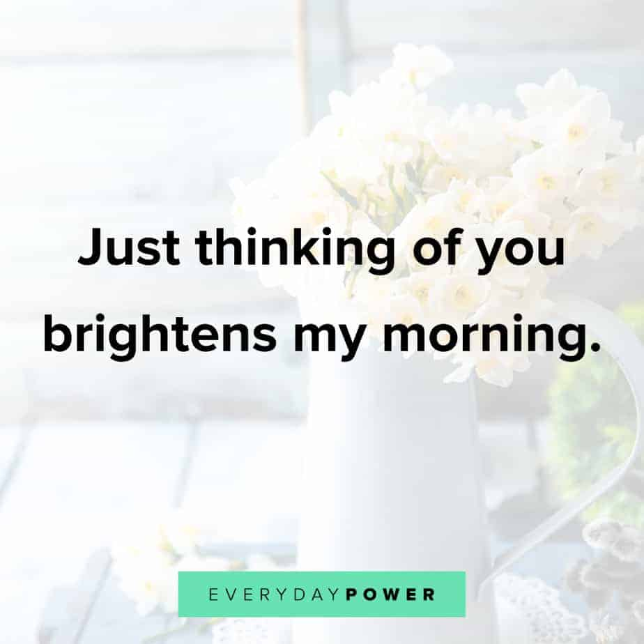 Good Morning Quotes for Him with images